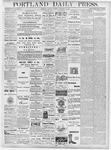Portland Daily Press: September 25, 1877