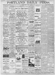 Portland Daily Press: October 1, 1877