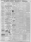 Portland Daily Press: October 3, 1877