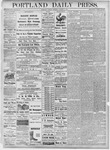 Portland Daily Press: October 9, 1877