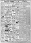 Portland Daily Press: October 10, 1877