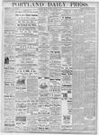 Portland Daily Press: October 12, 1877