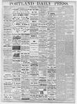Portland Daily Press: October 19, 1877