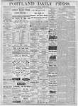 Portland Daily Press: October 23, 1877