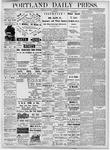 Portland Daily Press: October 25, 1877