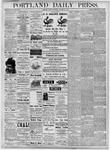 Portland Daily Press: October 26, 1877