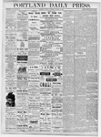 Portland Daily Press: October 30, 1877