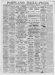 Portland Daily Press: January 1, 1877