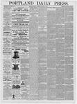 Portland Daily Press: January 5, 1877