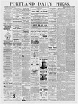 Portland Daily Press: January 9, 1877