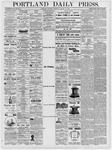 Portland Daily Press: January 18, 1877