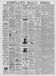 Portland Daily Press: January 20, 1877