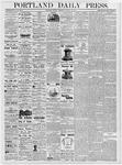 Portland Daily Press: January 23, 1877