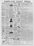 Portland Daily Press: January 30, 1877