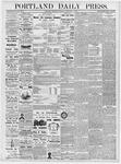 Portland Daily Press: February 21, 1877