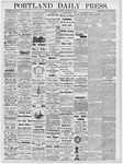Portland Daily Press: February 22, 1877