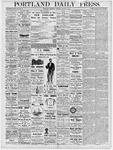 Portland Daily Press: March 1, 1877