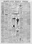 Portland Daily Press: March 9, 1877