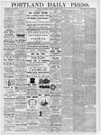 Portland Daily Press: March 21, 1877
