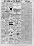 Portland Daily Press: March 22, 1877