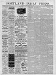 Portland Daily Press: May 5, 1877