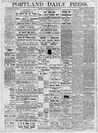 Portland Daily Press: June 11, 1877