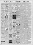 Portland Daily Press: June 16, 1877