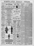 Portland Daily Press: June 27, 1877