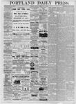 Portland Daily Press: July 7, 1877