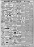 Portland Daily Press: August 7, 1877