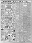 Portland Daily Press: August 8, 1877