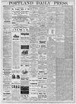 Portland Daily Press: August 15, 1877