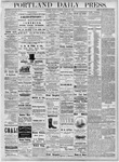 Portland Daily Press: August 27, 1877