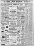 Portland Daily Press: September 8, 1877