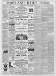 Portland Daily Press: September 13, 1877