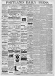 Portland Daily Press: September 15, 1877