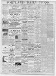 Portland Daily Press: September 28, 1877