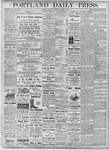 Portland Daily Press: October 11, 1877