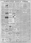 Portland Daily Press: October 13, 1877