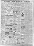 Portland Daily Press: October 15, 1877