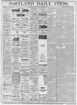 Portland Daily Press: October 20, 1877