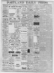 Portland Daily Press: October 22, 1877