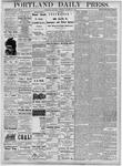 Portland Daily Press: October 27, 1877