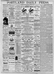 Portland Daily Press: October 29, 1877