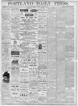Portland Daily Press: October 31, 1877
