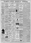 Portland Daily Press: November 1, 1877
