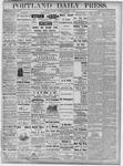 Portland Daily Press: November 5, 1877