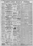 Portland Daily Press: November 6, 1877