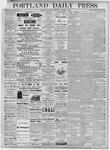 Portland Daily Press: November 7, 1877