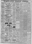 Portland Daily Press: November 8, 1877